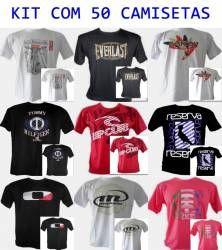 e786a53ddfee2 KIT - 50 Camisetas Masculinas Réplicas 1ª Linha - PORQÑ CAMISETAS